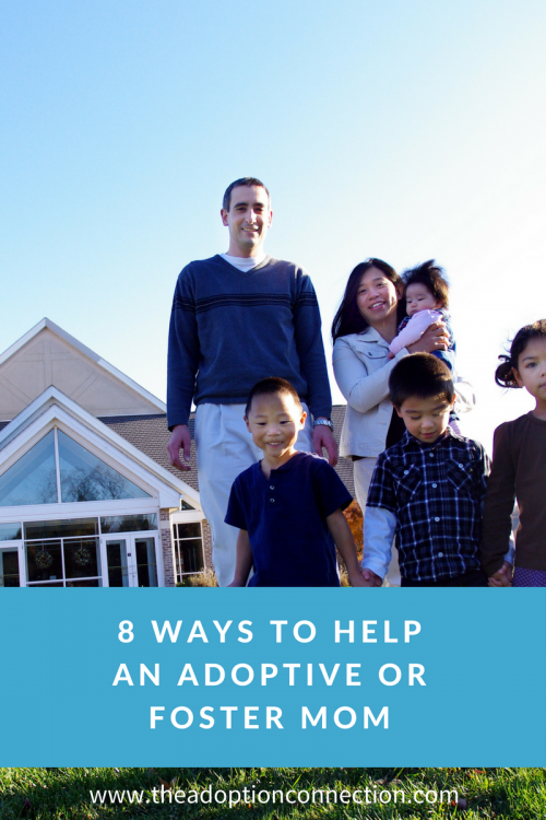 how to help adoptive families