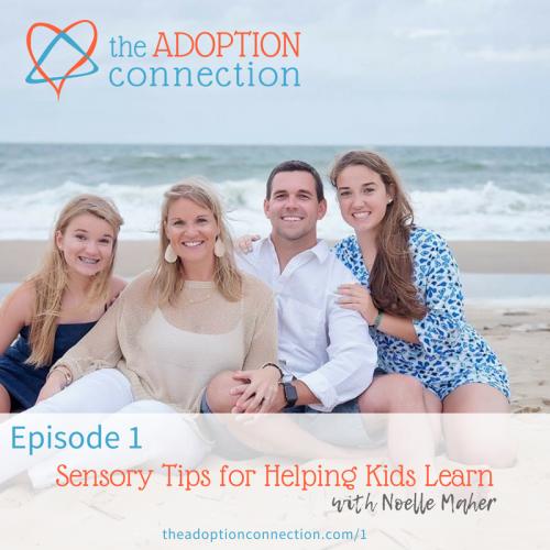 adoption podcast sensory