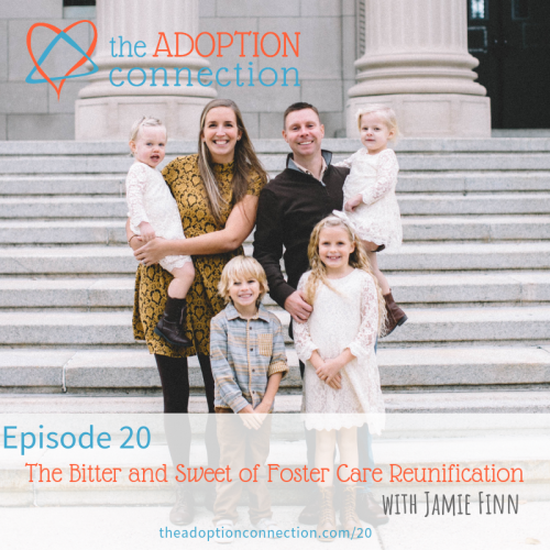 jamie finn reunification foster care podcast