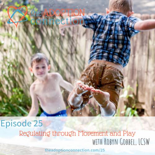 sensory play regulation adoption foster care trauma
