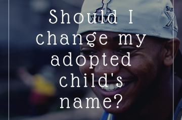adoption name change