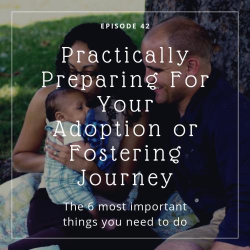 adoption foster care preparation training