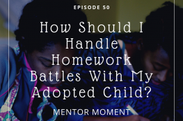 adoption, trauma, school, homework
