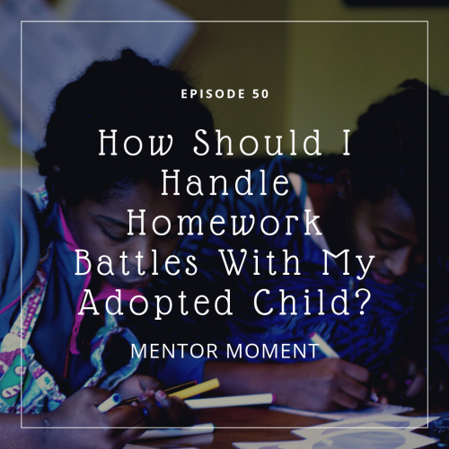 adoption,  trauma, school, homework