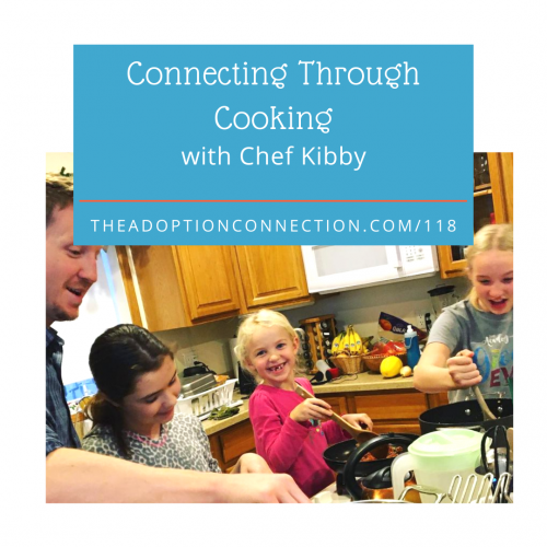 adoptive dads, food, meals, connection
